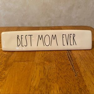 Rae Dunn BEST MOM EVER Plaque